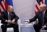 Ko tikėjosi Putinas iš Trumpo ir ką iš tiesų gavo