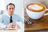 Darbo pokalbio metu naudoja kavos testą: priima tik išlaikiusius