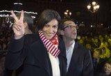 Prancūzijos socialistams rinkimai tapo juoduoju sekmadieniu, o Paryžiui pirmąkart vadovaus moteris