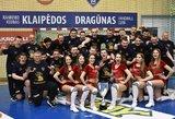 Lietuvos rankinio čempionų taurė sugrįžo į Klaipėdą