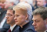 Prezidentė: stojimas į NATO buvo gyvybiškai svarbus sprendimas