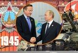 Cameronas palygino: tai ne Hitleris 1939-aisiais, tai Putinas 2014-aisiais