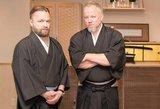 Keliautojai Martynas Starkus ir Vytaras Radzevičius mokėsi samurajų meno
