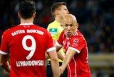"""Netikėtumai Vokietijoje: """"Bayern"""" pralaimėjo, """"Borussia"""" sužaidė lygiosiomis"""