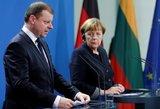 Atskleidė, ką nuveiks rudenį Lietuvoje viešėsianti A. Merkel