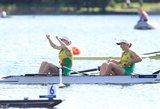 V.Urbonaitei ir K.Kralikaitei – pasaulio čempionato 4-oji vieta ir bilietas į jaunimo olimpines žaidynes