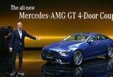 """Ženevos automobilių paroda 2018: """"AMG"""" šeimą papildė """"GT 4"""" sedanas"""
