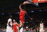 """Mindaugas Kuzminskas buvo pastebimas, """"Knicks"""" neatsilaikė namie"""
