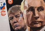 Trumpas ir Putinas – romanas be meilės