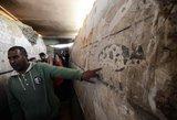 Neįtikėtinas atradimas: Egipte pademonstruotas beveik 5 tūkst. metų senumo kapas