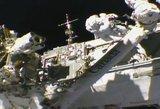 Minint išsilaipinimo Mėnulyje metines į TKS ruošiasi išskristi astronautų įgula