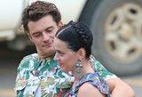 Saldžioji porelė Katy Perry ir Orlando Bloomas nebesislepia – atvirai rodo savo jausmus