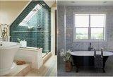 Vonios kambario interjeras: nuo tobulumo iki absurdo