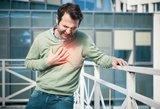 Įvardijo infarkto ir insulto simptomus, kuriuos daugelis linkę ignoruoti