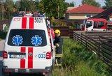Panevėžio rajone per gaisrą gyvenamajame vagonėlyje žuvo žmogus