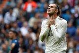Nepadorų gestą parodžiusiam Bale'ui gresia ilga bausmė