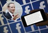 Feisbuke plinta žinutė: ką žinoti apie draudimą naudoti asmeninę informaciją