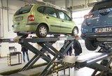 """Verslininkai: automobilių techninės apžiūros atliekamos """"už gražias akis"""""""