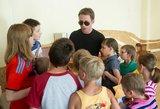 """Grupės """"SEL"""" lyderis Egidijus Dragūnas vaikų namų auklėtinius nustebino kilniu gestu"""