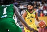 Australai tik po atkaklios kovos įveikė Senegalo krepšininkus