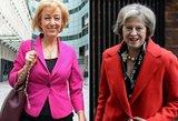 Britanija turės pirmąją premjerę moterį po Margaret Thatcher