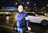 Į žinomo žurnalisto D.Dargio automobilį rėžėsi girtas vairuotojas
