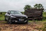 """""""Volvo V90 Cross Country"""": Švediška alternatyva populiariems """"SUV"""""""