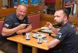 Vytaras Radzevičius ir Martynas Starkus mėgavosi gyvybei pavojingais skanėstais
