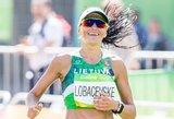 Diana Lobačevskė driokstelėjo – po olimpiados triumfavo Meksiko maratone