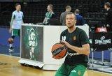 Lukas Lekavičius vėl nebuvo registruotas rungtynėms