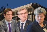 Ministerijos pakeis savo veidą, o socdarbiečiai nori Pranckiečio kėdės