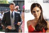 Victoria Beckham pagaliau prakalbo apie skyrybų su D. Beckhamu gandus