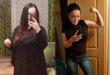Vilnietė atsikratė 42 kg: anksčiau negalėjo į save žiūrėti veidrodyje