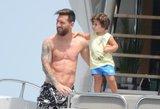 Futbolininkas L. Messis pademonstravo ištreniruotą kūną: prabangios atostogos kelia pavydą