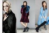 Šaltąjį sezoną dizainerė Toma Jankauskaitė kviečia puoštis spalvingomis suknelėmis