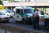 Vilniuje policija sukėlė avariją