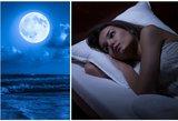 Nustebsite – štai, kaip pilnatis veikia mūsų miegą