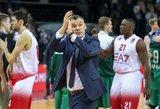 Šarūnas Jasikevičius nuėmė kepurę prieš sirgalius, bet į šuns dienas išdėjo žaidėjų mentalitetą