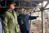 Vaizdai iš Alytaus, kurį šiandien paslapčia aplankė prezidentas Nausėda