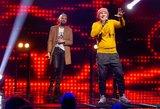 """""""Eurovizijos"""" scenoje pasirodę vyrai sukėlė juoką: jiems reikėtų labai sunerimti"""