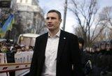 """Ukrainos opozicijos smaigalyje  – daktaras """"Geležinis kumštis"""""""