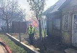 Lietuvą alinantis gaisras sugriovė šeimos gyvenimą: liko be nieko