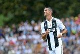 Cristiano Ronaldo era Turine prasidėjo įspūdingai: greitas įvartis, kamščiai ir išprotėję sirgaliai