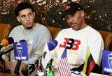 """Griūna tėtušio LaVaro verslas: """"Big Baller Brand"""" – ant išnykimo ribos"""