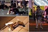 Klaiki naktis Las Vegase: skambant muzikai aidėjo automato šūviai – vaizdai šokiruoja
