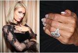 2 milijonų dolerių vertės žiedas neteko prasmės: Hilton išsiskyrė su mylimuoju