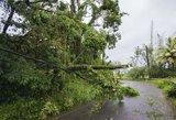 """Dominiką nusiaubęs uraganas """"Maria"""" pasiekė Puerto Riką"""