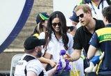 Britanijos princas Harry ves savo širdies draugę Meghan