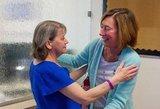 Neįtikėtina istorija: donorė susitiko su moterimi, kuriai padovanojo savo širdį