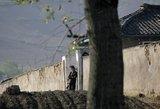 Šiaurės Korėjoje kalintą JAV studentą ištiko koma sunkių darbų stovykloje